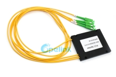 1X3 SC/APC Plastic ABS Box Optical Fiber PLC Splitter