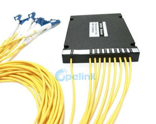 8CH Mux/Demux Optical DWDM, 2.0mm LC/UPC ABS Box DWDM Module