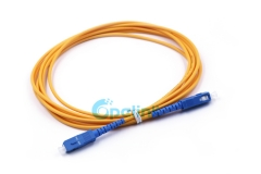 SC-SC 3.0mm Fiber Cable SM Simplex 9/125 Fiber Optic Patch Cable