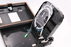 Outdoor Waterproof FTTH Fiber Optic Termination Box with Fiber PLC Splitter Blockless Type