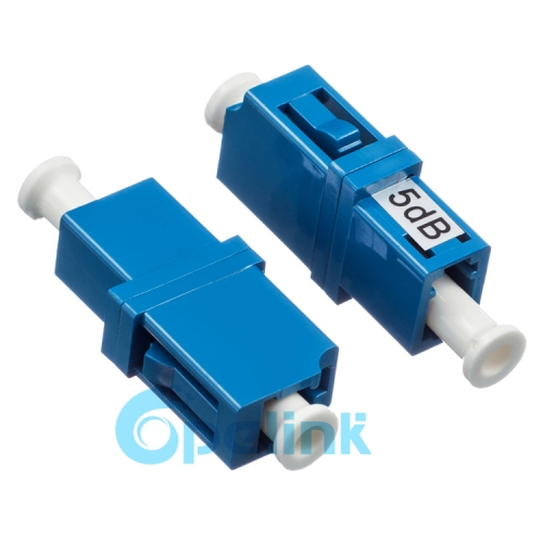 Singlemode Fiber Adapter type Fiber Optic Attenuator LC-LC Female to Female Fixed Optical Attenuator