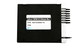 6CH Optical CWDM Module, 0.9mm LC/PC ABS BOX CWDM Mux / Demux Module with Express port
