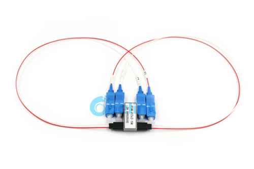 2X2 0.9mm Optical Cable SC/PC FSW Optical Switch For Fiber Test System